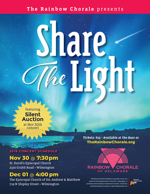 Share The Light flyer
