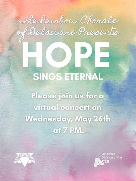 Hope Sings Eternal Spring Concert Poster